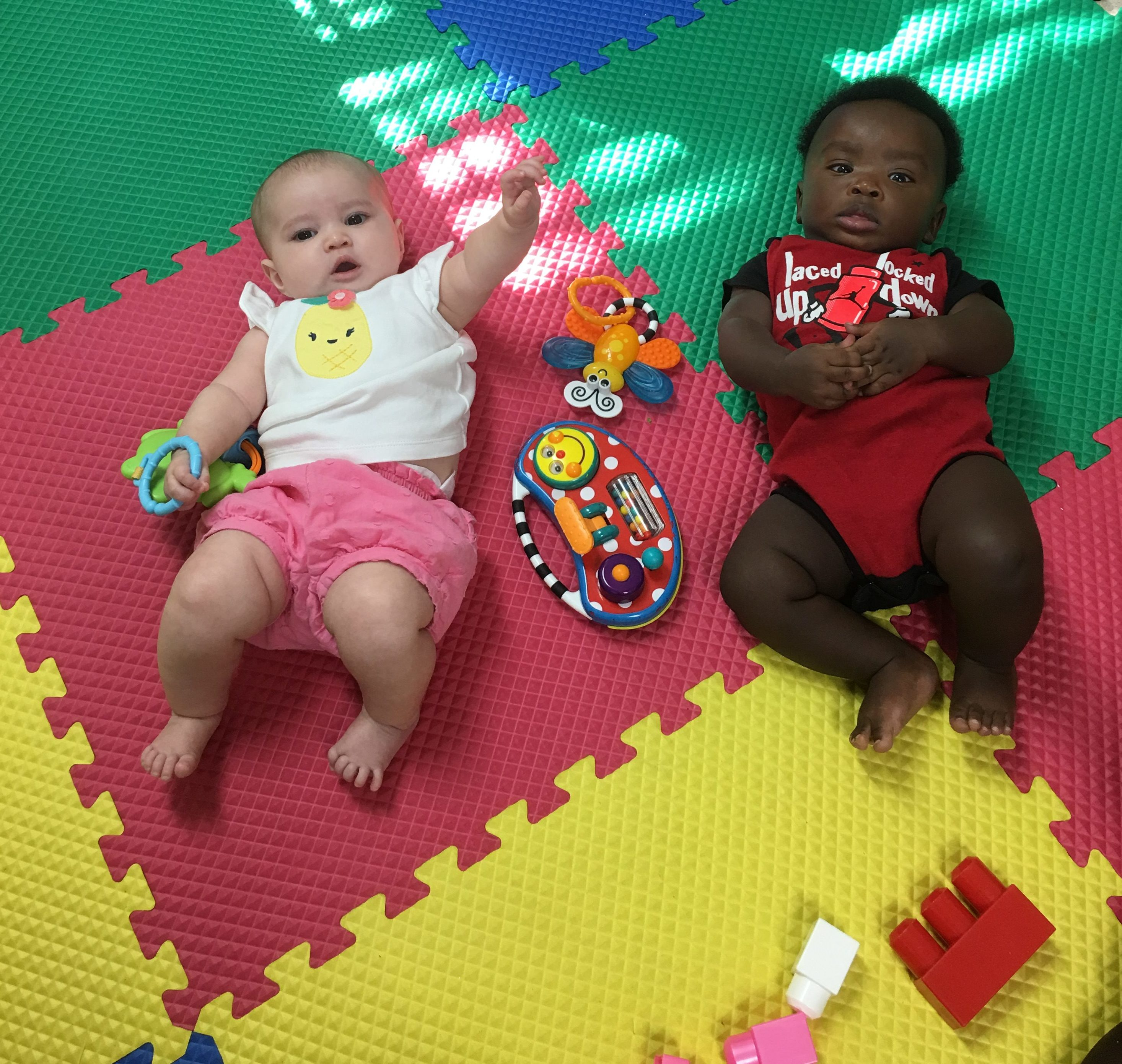 Infants at the Kidz House