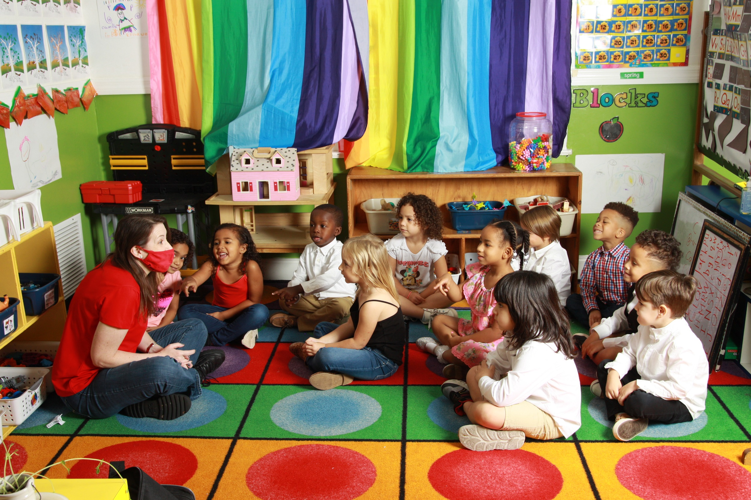 Classroom Time For Our Four Year Olds