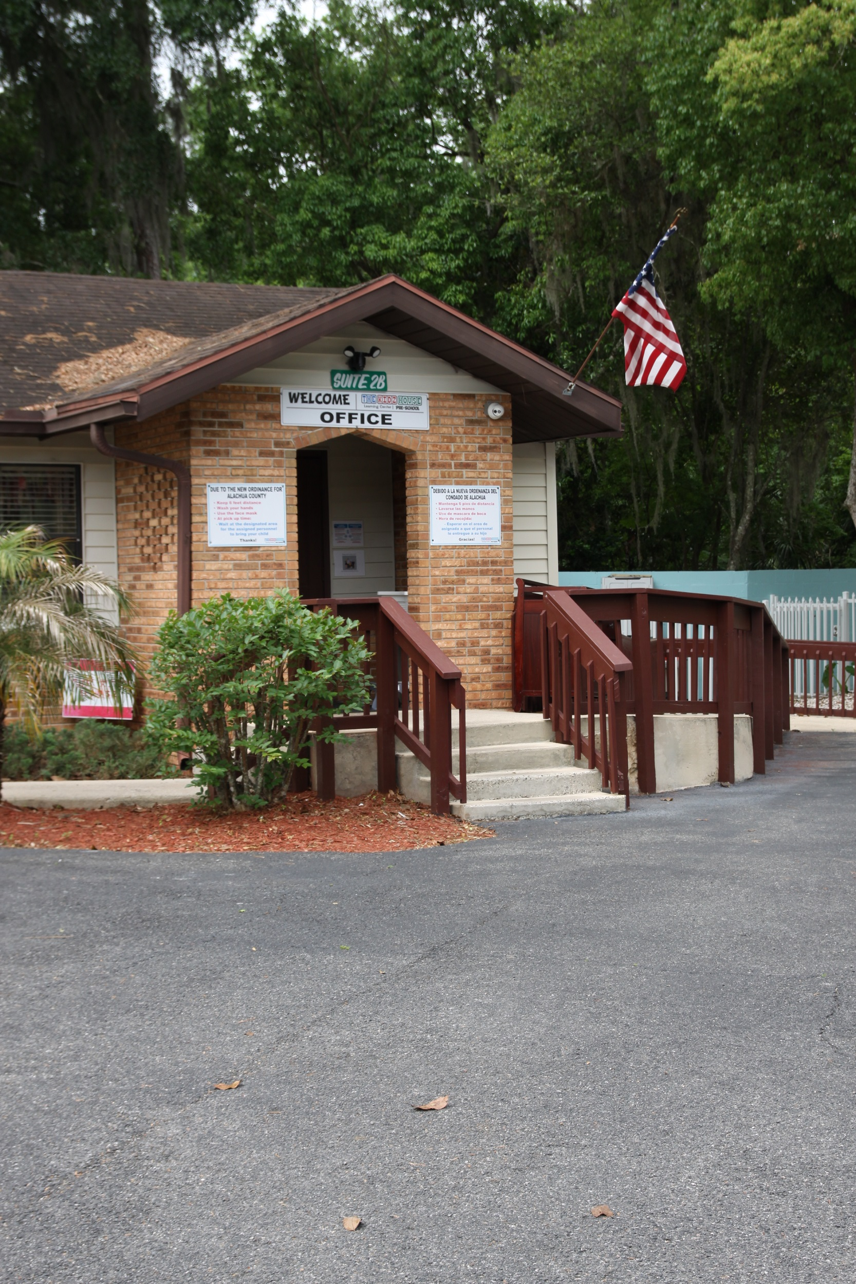 The Kidz House Daycare Welcome Office